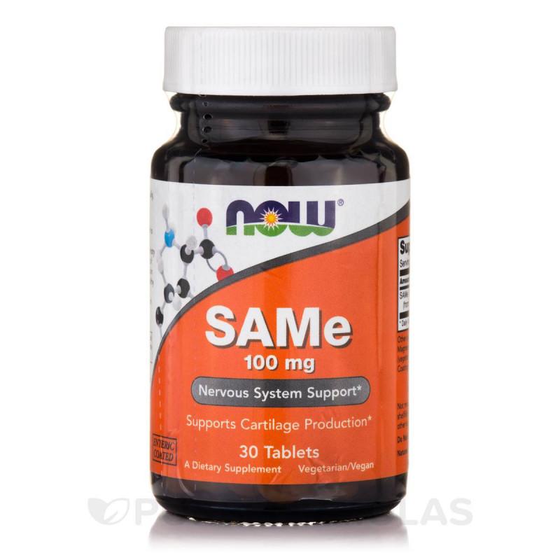 SAMe 100 мг - 30 Таблетки
