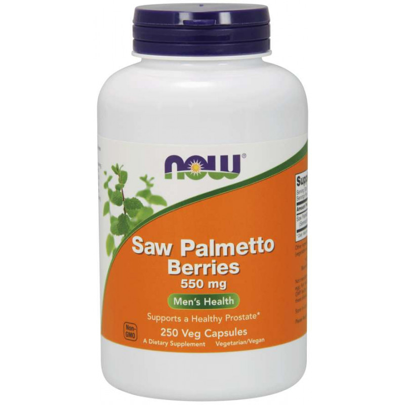 Saw Palmetto Berries 550 мг - 250 Капсули
