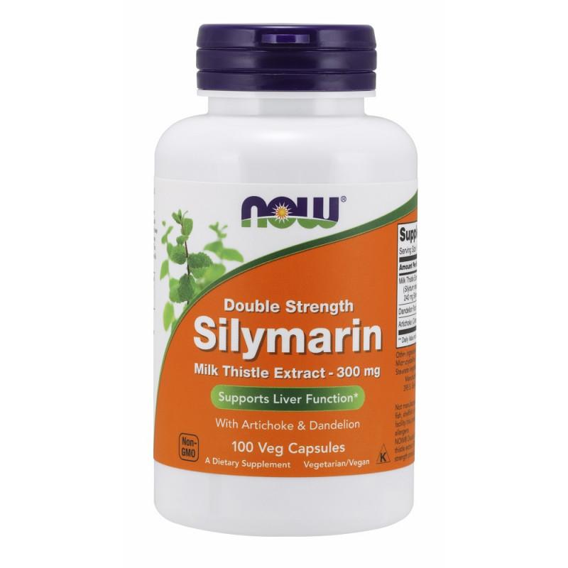 Silymarin (Магарешки Бодил) 300 мг - 100 Веган капсули
