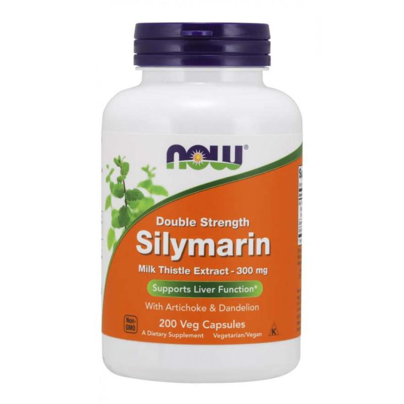 Silymarin (Магарешки Бодил) 300 мг - 200 Веган капсули