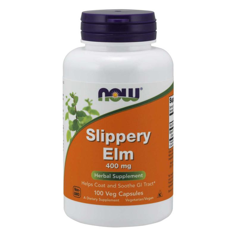 Slippery Elm (Хлъзгав Бряст) 400 мг - 100 Капсули