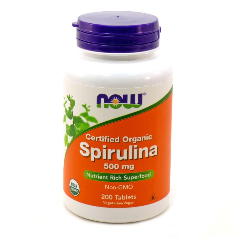 Spirulina 500 мг - 200 Таблетки