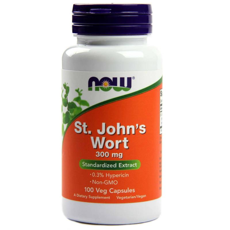 St. John`s Wort (Жълт Кантарион) 300 мг - 100 Капсули