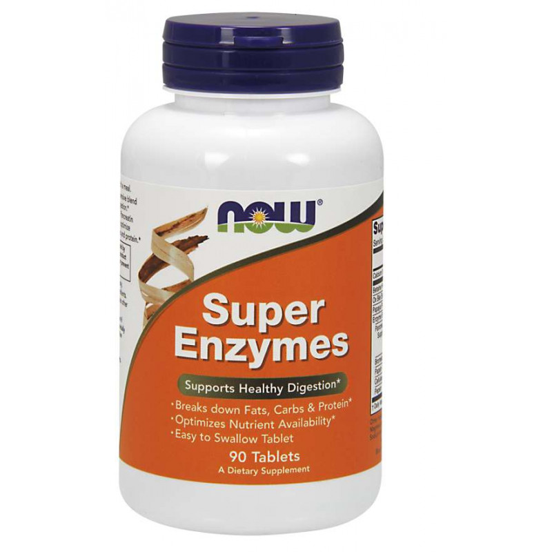 Super Enzymes - 90 Tаблетки