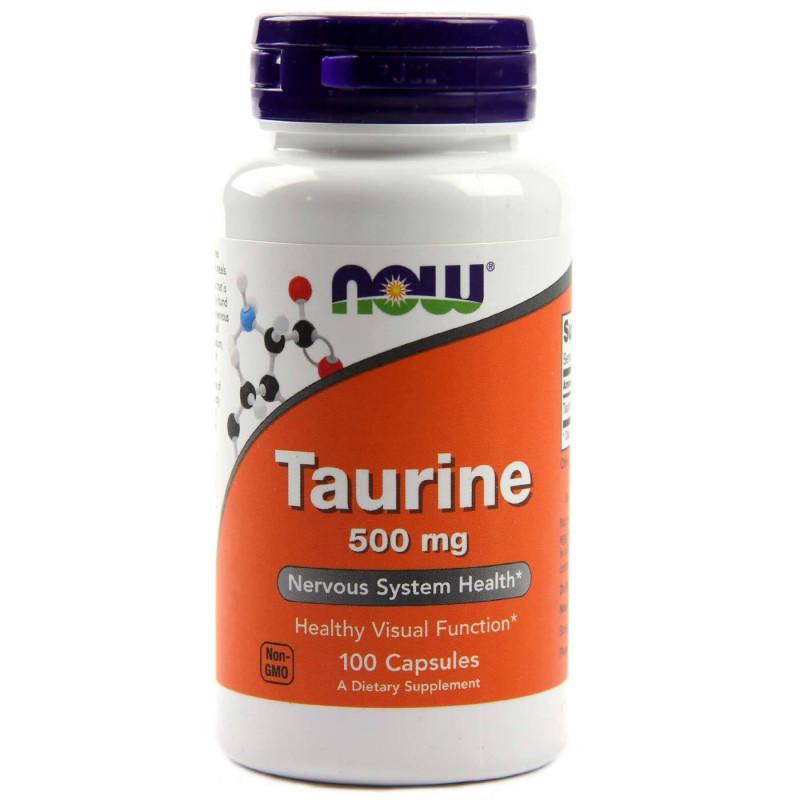 Taurine 500 мг - 100 Капсули