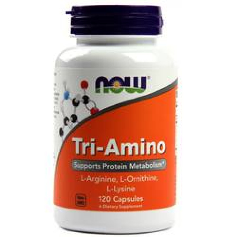 Tri-Amino (Arginine/Ornitine/Lysine) - 120 Капсули
