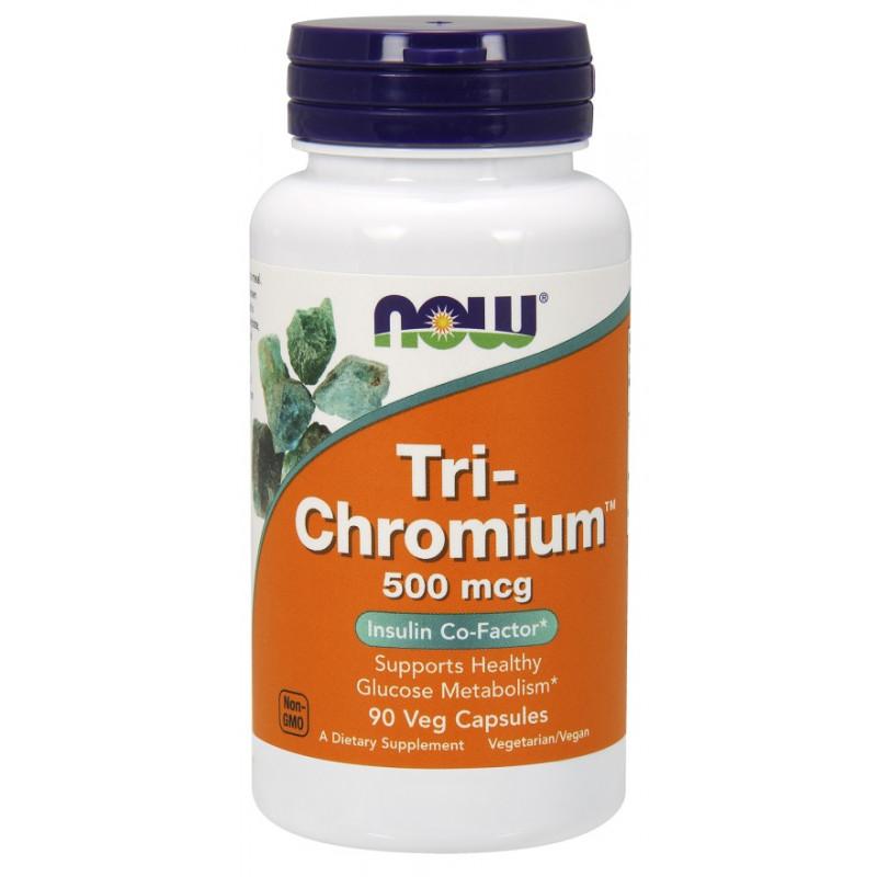 Tri-Chromium 500 mcg + Cinnamon - 90 vcaps