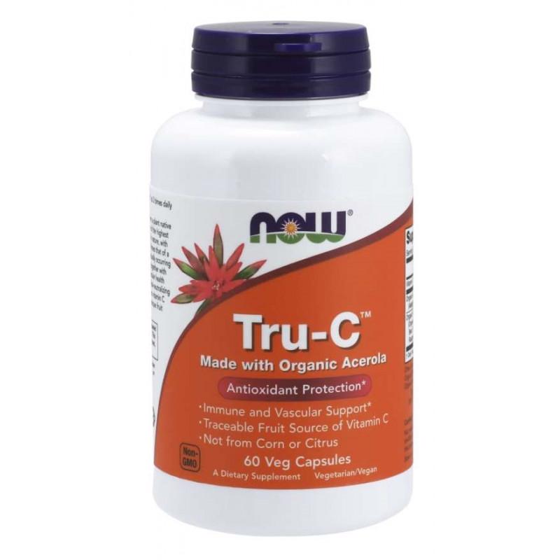 TRU-C Organic Acerola - 60 веган капсули