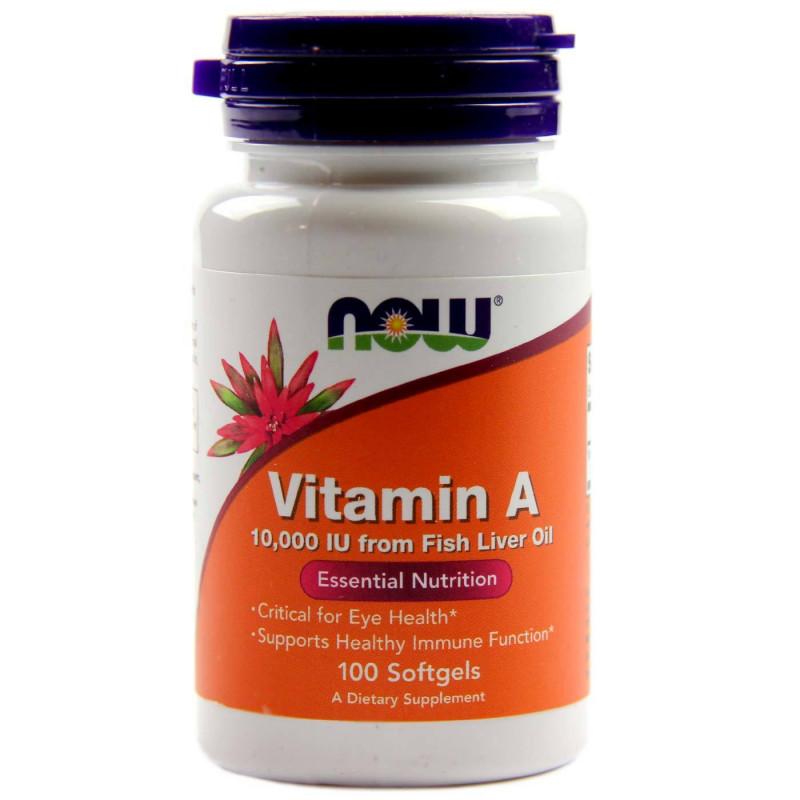 Vitamin A 10,000 IU - 100 Дражета