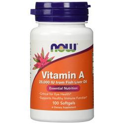 Vitamin A 25,000 IU - 100 Дражета