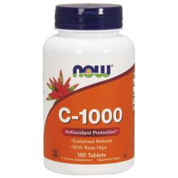 Vitamin C-1000 (Постепенно освобождаване) - 100 Таблетки