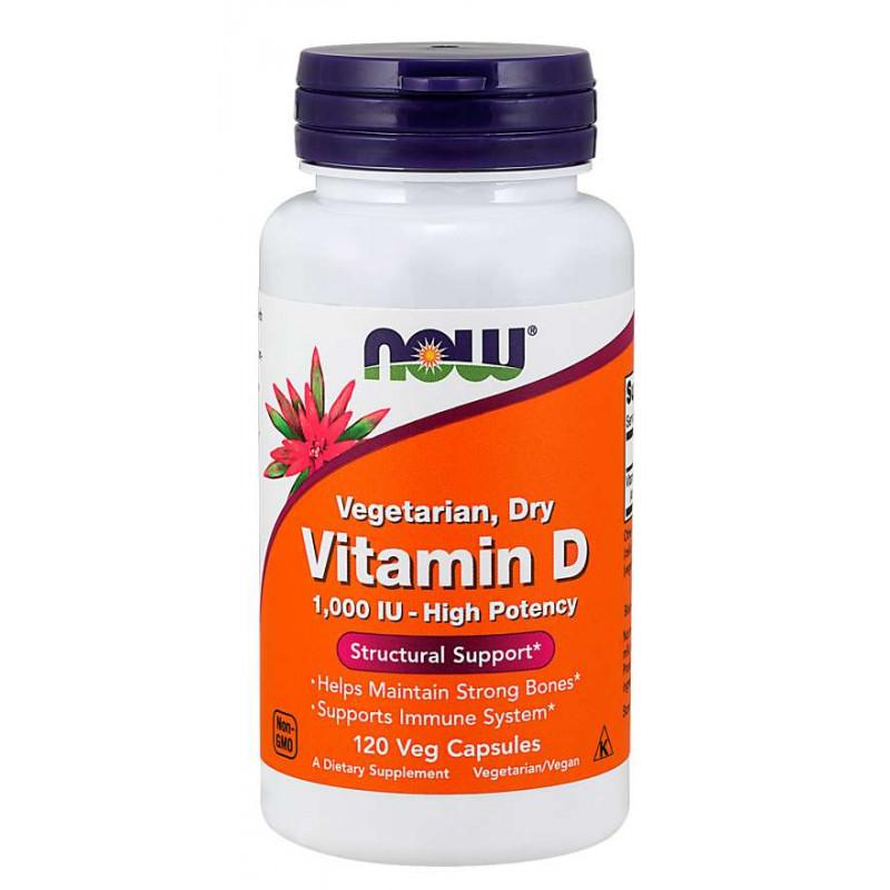 Vitamin D 1000 IU VEGETARIAN - 120 Veg Capsules