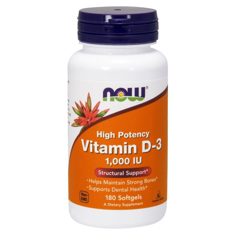 Vitamin D-3 1000 IU - 180 Дражета