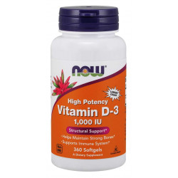 Vitamin D-3 1000 IU - 360 Дражета