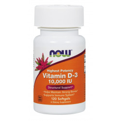 Vitamin D-3 10000 IU - 120 Дражета