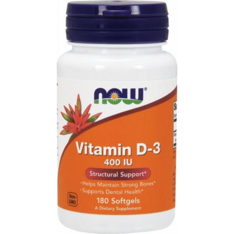 Vitamin D-3 400 IU - 180 Дражета