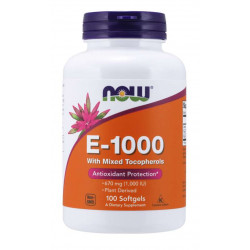 Vitamin E-1000 IU - 100 Дражета