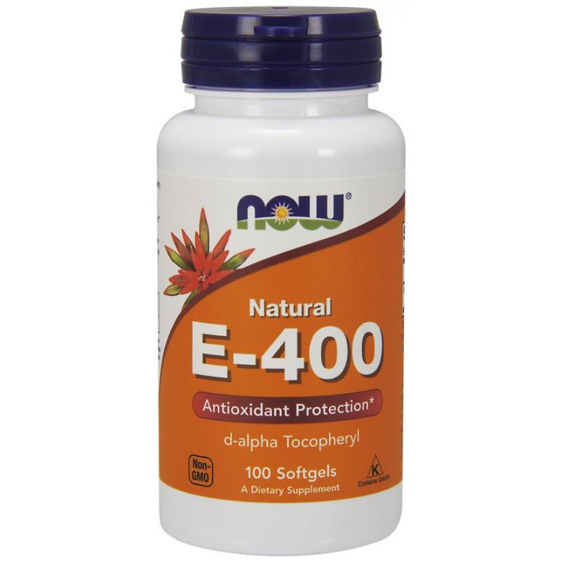 Vitamin E-400 IU D-Alpha - 100 дражета