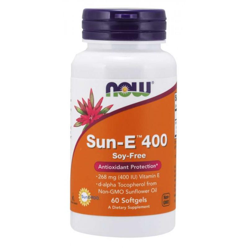 Vitamin E-400 IU (Sun-E) - 60 Дражета
