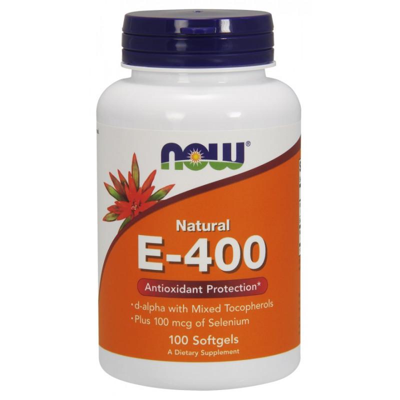 Vitamin E-400 + Selenium - 100 дражета