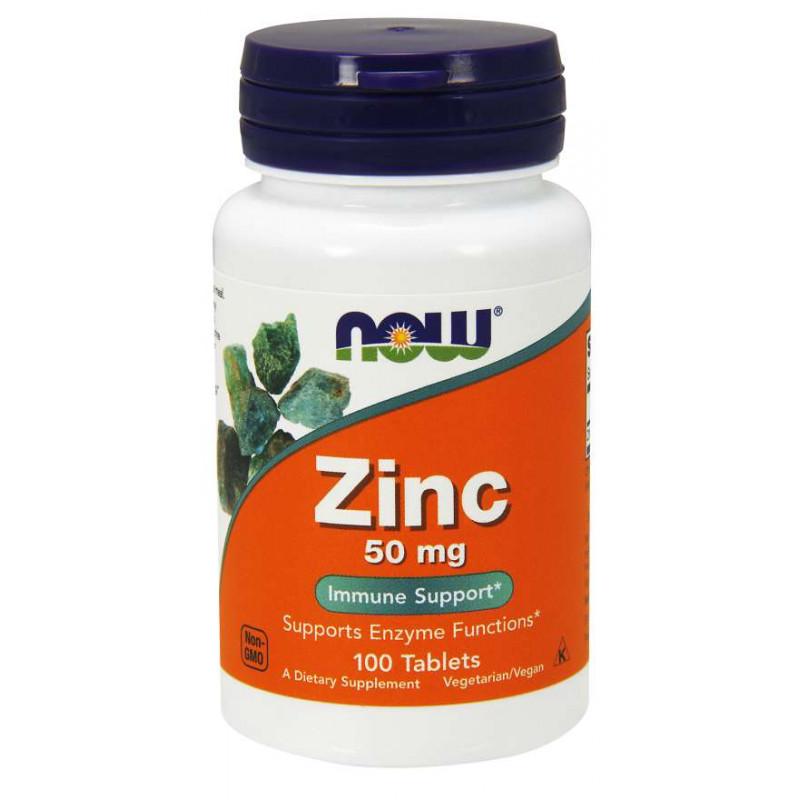 Zinc Gluconate 50 mg - 100 таблетки